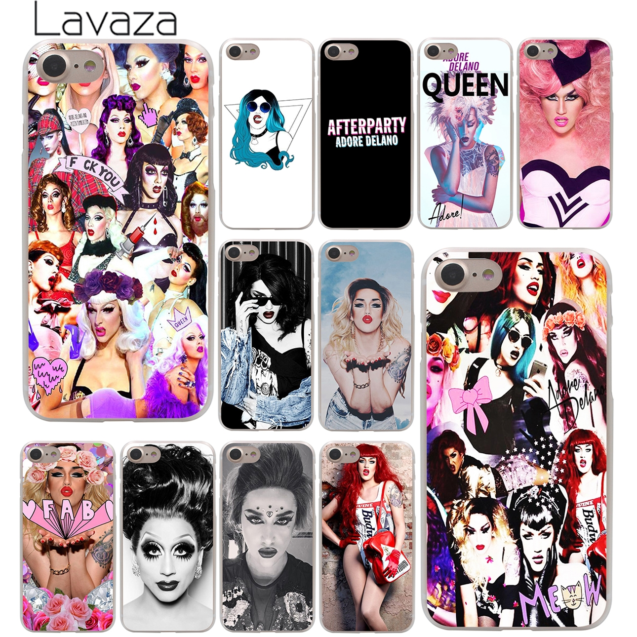 Lavaza Adore Delano Hard Phone Cover Case For Apple Iphone 10 X 8 Fleksibel Volume 6sp 7 6 6s Plus 5 5s Se 5c 4 4s Coque Shell