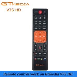 High quality Remote Control for gtmedia v7s hd Satellite tv receiver support cccam cline Receptor freesat v7 hd remote control(China)