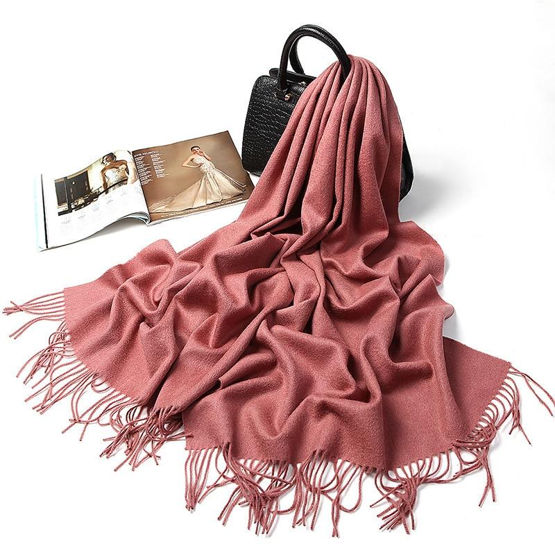 New Fashion Cashmere Scarf Brand Women Scarves Wool Warm Shawls Tassel Women Wraps Thicken Warm Scarves Wool Shawl