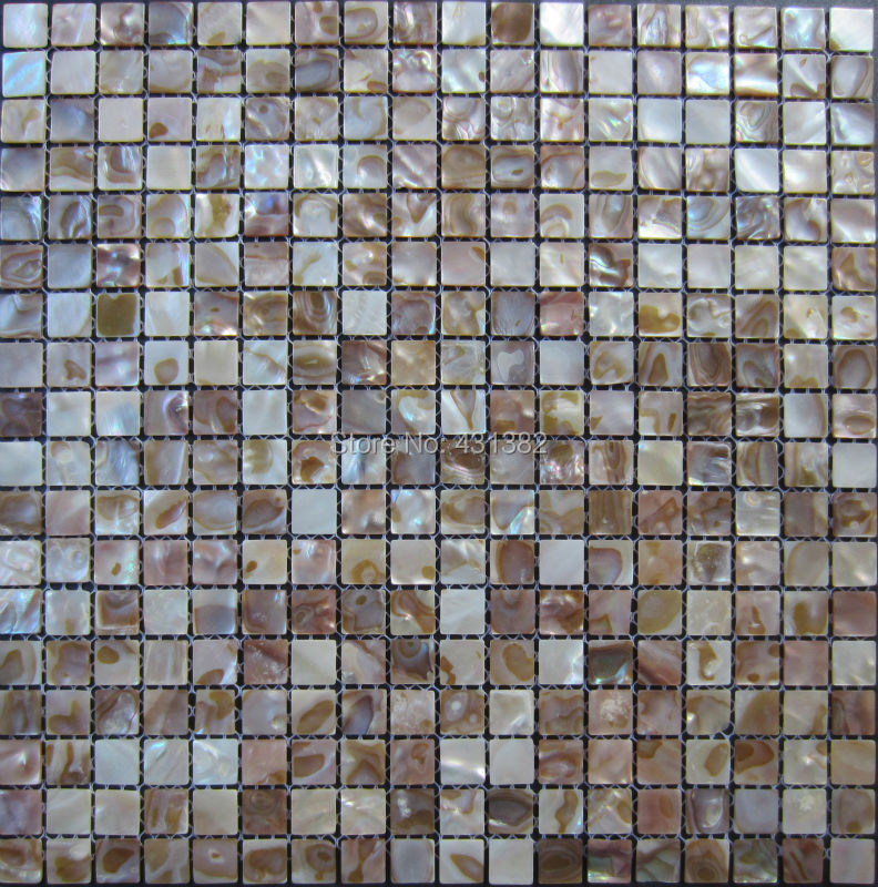 Cheap shell mosaic tile mother of pearl mosaic tiles; kitchen ...