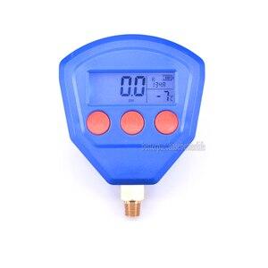 Image 2 - R22 R410 R407C R404A R134A Klimaanlage Kälte Vakuum Medizinische Geräte Batteriebetriebene Digitale Manometer