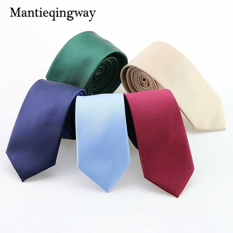 Mantieqingway Men Solid Navy Blue Classic Ties for Bridegroom Champagne Color Neck Ties for Wedding Ties Groom Ties for Men