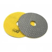 цена на Electroplated Diamond Polishing Pad  Wet Dry Sandpaper for Glass Concrete Marble Stone Granite Sanding