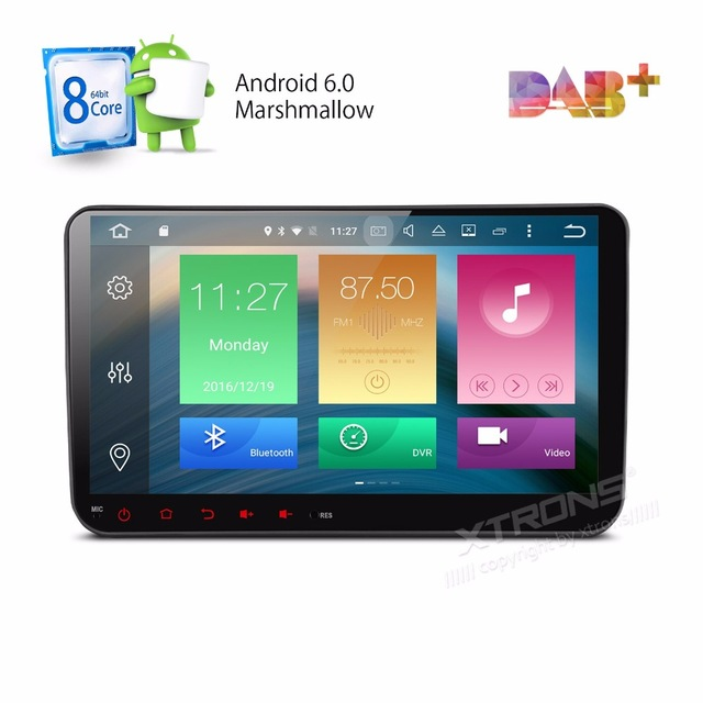 Android 6.0 OS 9″ Octa-Core Car Multimedia Radio for Volkswagen EOS 2006-2013 & Polo 2009-2013 & Passat 2005-2013 with 2GB RAM