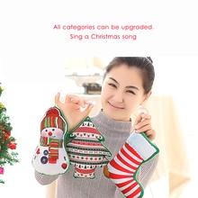 Cute Cartoon Christmas Wall Suction Cup Hanging Decoration Snowman Santa Claus Elk Tree Shape Pillow Xmas Cushion Gift For Kids