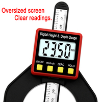 Digital Depth Gauge LCD Height Gauges Calipers