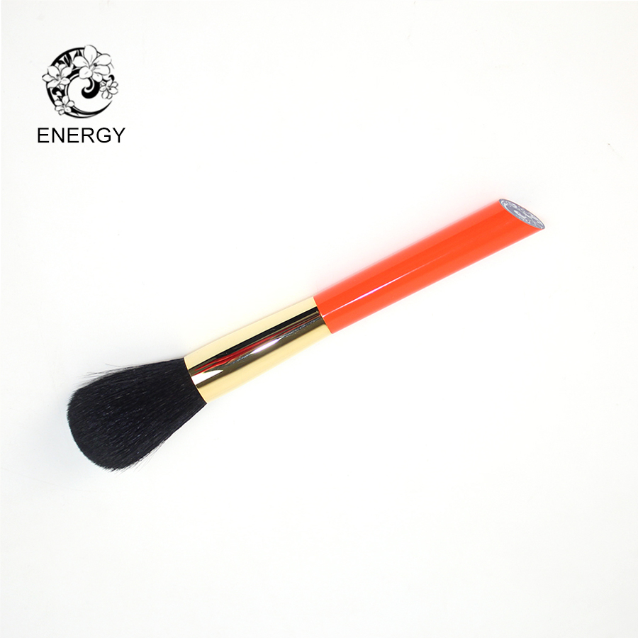 ENERGY Brand Black Goat Hair Round Powder Brush Makeup Brushes Make Up Brush Brochas Maquillaje Pinceaux Maquillage Pincel S104B h01 professional makeup brushes squirrel hair sokouhou goat hair powder brush walnut wood handle cosmetic tools make up brush