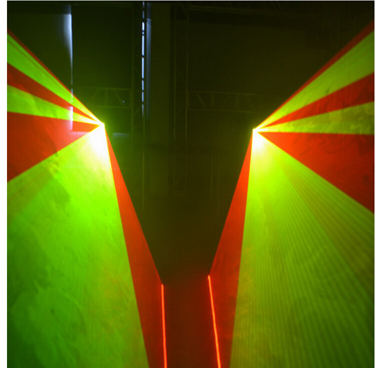 Besplatna dostava 3W lasersko svjetlo 3000mW RGB bijelo miješanje - Komercijalna rasvjeta - Foto 4