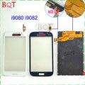 100% Испытанное ЖК-экран для Samsung Galaxy Grand I9080 Duos I9082 Сенсорный Экран стекла сенсорная панель Дигитайзер белый синий
