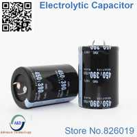 9pcs/lot 450V 390UF Radial DIP Aluminum Electrolytic Capacitors size 35*50 390UF 450V Tolerance 20%