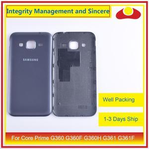 Image 5 - 50 unids/lote para Samsung Galaxy Grand Prime G530 G530H G530F G531 G531F vivienda puerta de la batería tapa trasera caso chasis de