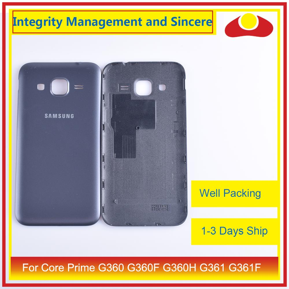 Image 5 - For Samsung Galaxy Core Prime G360 G360F G360H G361 G361F Housing Battery Door Rear Back Cover Case Chassis Shell Replacement-in Mobile Phone Housings & Frames from Cellphones & Telecommunications