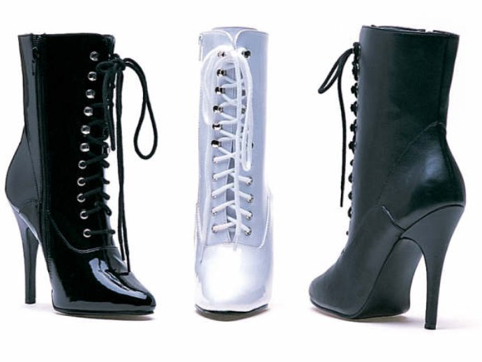 ФОТО 12CM High Height Sex boots Women's Heels  Stiletto Heel  Ankle Boots  No.LC-160
