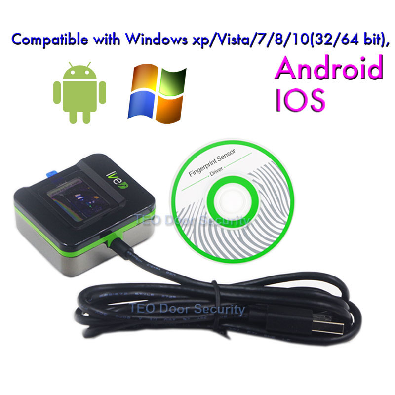 Fingerprint Recognition Device ZK LIVE20R Fingerprint reader support in Win10 software Special discount