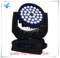 Free Shipping 6pcs Lot Pro Stage Light Rgbw 36x10W Led Moving Head Wash Light