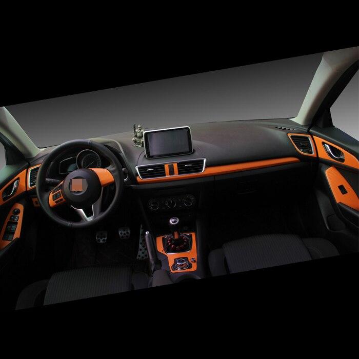 Mazda Axela Üçün Yeni Avtomobil Daxili Mərkəzi Konsol Rəng - Avtomobil daxili aksesuarları - Fotoqrafiya 1