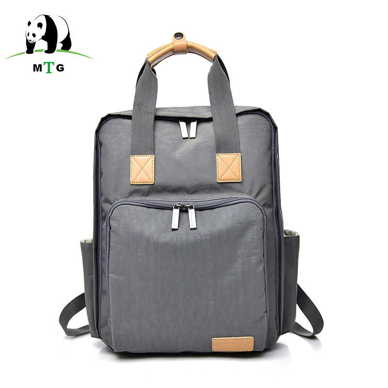 MTG Brand Backpack School Backpack Women Canvas Travel Backpacks Nylon Waterproof Laptop Bagpack Female for Teenage Girl Mochila