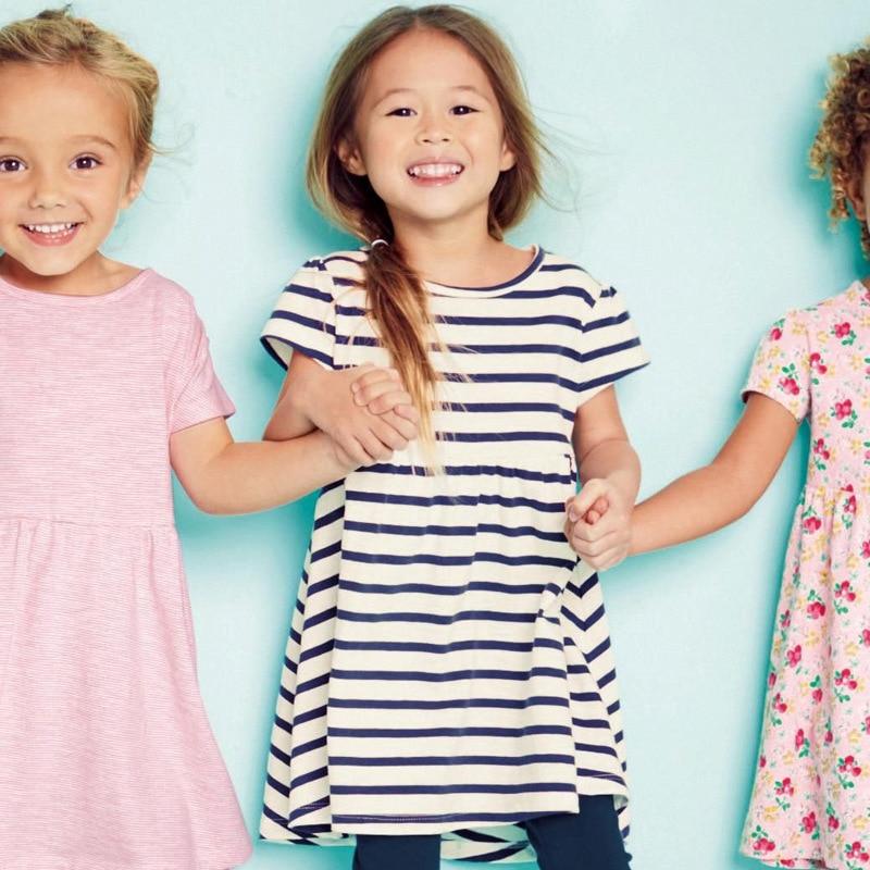 작은 메이븐 브랜드 여자 새로운 여름 블루 - 아동복 - 사진 2