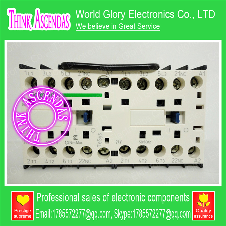 LP2K Series Contactor LP2K0901 LP2K0901JD 12V DC / LP2K0901BD 24V DC / LP2K0901CD 36V DC / LP2K0901ED 48V DC sayoon dc 12v contactor czwt150a contactor with switching phase small volume large load capacity long service life