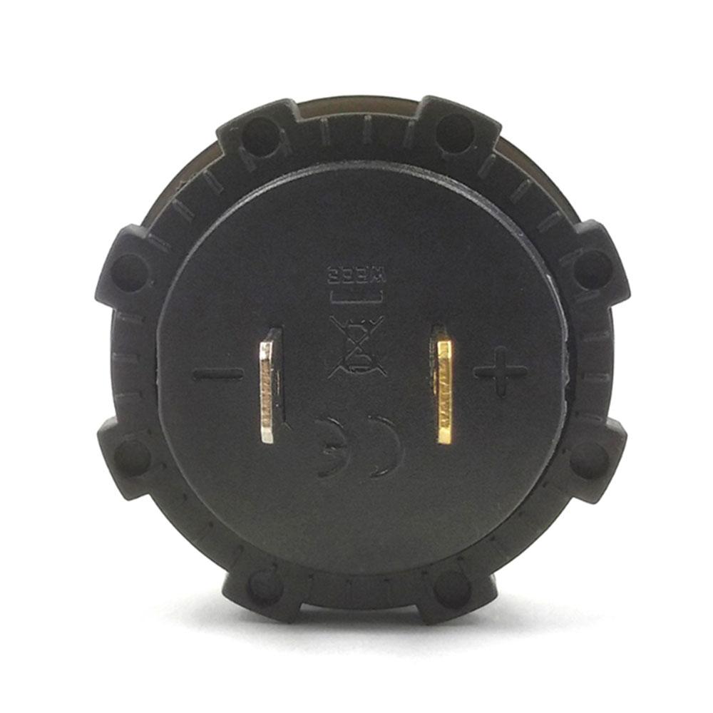 Измеритель напряжения 5 цветов дисплей универсальный дисплей напряжения модифицированный вольтметр чувствительный автомобиль