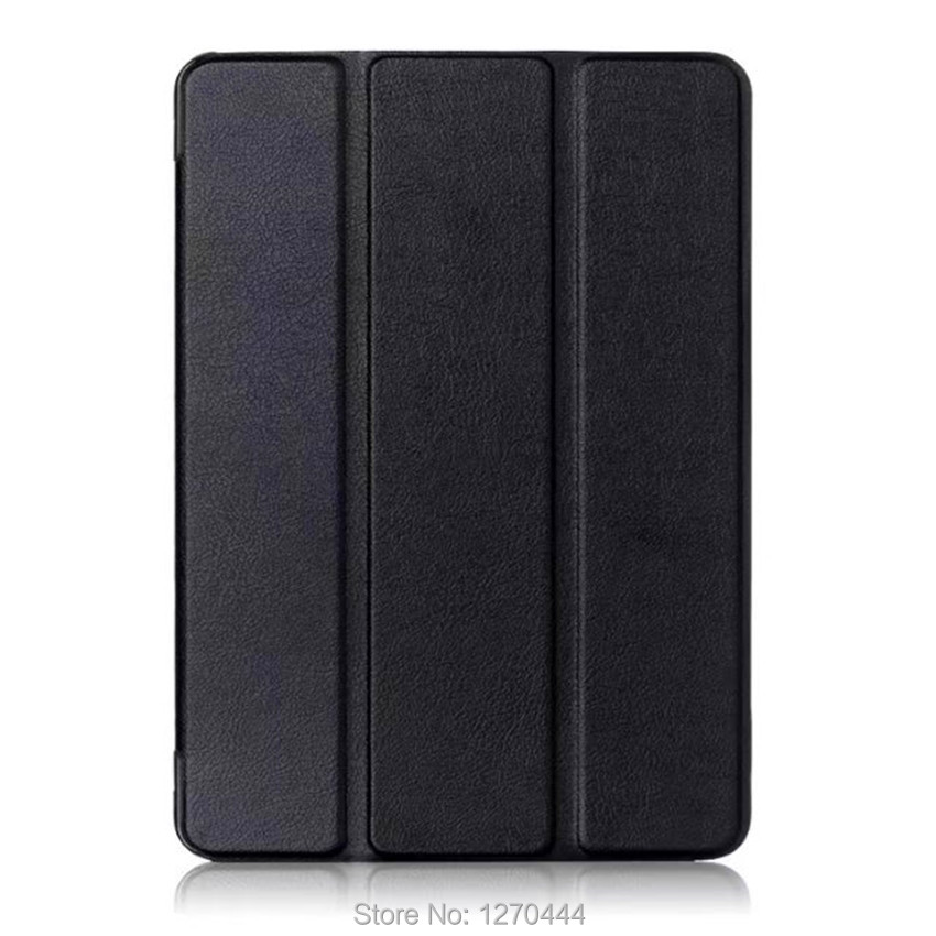 Ultra slim smart cover cases for 2017 New Apple iPad Pro 10.5 inches A1701 A1709 pu leather book flip cover Trifold Stand sleep