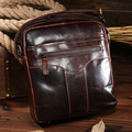 Hot 2016 New Design Fashion Genuine Leather Bags Men Messenger Bags Vintage Small men Shoulder Bags Casula Crossbody Bags Bolsas