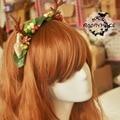 Японский harajuku сладкая лолита головные уборы обруч рога стиль косплей повязка на голову ну вечеринку аксессуар