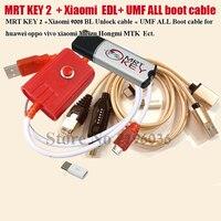 2020 Originele MRT SLEUTEL 2 Dongle + voor GPG xiao mi Mei zu EDL kabel + UMF ALLE Boot kabel set EENVOUDIG SCHAKELEN & mi cro USB Naar Type-C