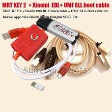 مفتاح MRT أصلي 2020 2 دونجل + لكابل GPG xiao mi Mei zu EDL + طقم كابل التمهيد بالكامل UMF سهل التبديل ومايكرو USB إلى Type C