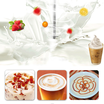 220V Electric Milk Frother kitchen Coffee Milk Blender Mixing Multifunctional Foam Maker Milkshake EU/UK Plug 3