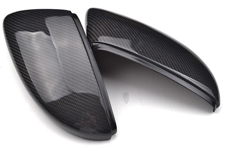 Бесплатная доставка !Одна пара из углеродного волокна задние боковые заменить зеркало крышка для VW СИРОККО 2009-2015