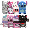 For Lenovo A2010 Case 3D Silicone Stitch KT Cupcake Cartoon Style Soft Phone Back Skin Case Cover for Lenovo A 2010
