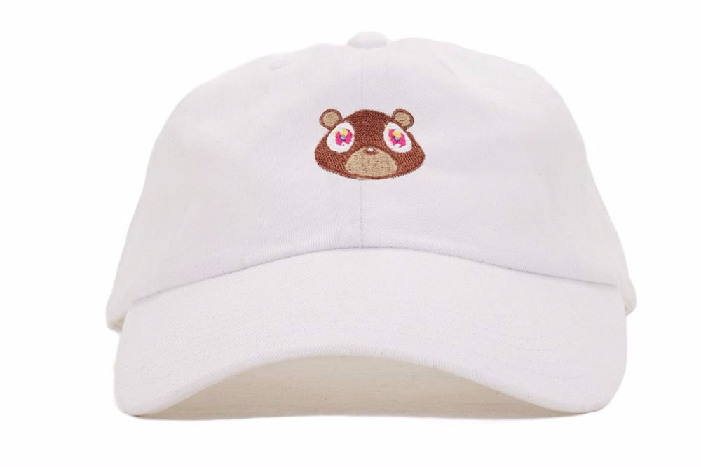 Kanye-West-Ye-Bear-Dad-Hat-EXCLUSIVE-Release-Limited-Unisex-Tan-Limited-cap-Very-Rare-I