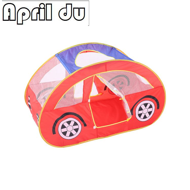 1pcs New arrival Child gift children kids play tent game house Red gauze car baby toy tent
