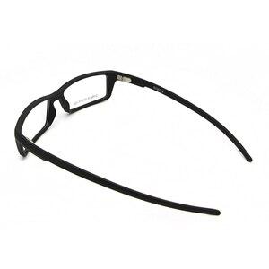 Image 5 - Esnbie 새로운 안경 안경 프레임 안경 프레임 블랙 tr90 광학 유리 처방 안경 프레임 rx