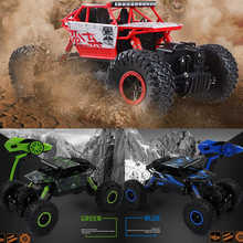 1/18 2.4GHZ 4WD Radio Remote Controll Off Road Car RC Auto Buggy Monster Truck(China)
