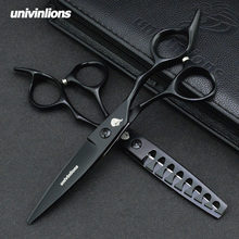 6 professional hairdressing scissors coiffure barber salon thinning shears hair hairstylist cabelereiro kit