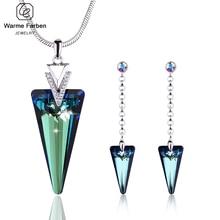 Fine Jewelry Set for Womans Geometric Tr