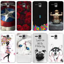 Colorful Cases for Lenovo Golden Warrior A8 A806 A808T Printing Drawing Mobile Phone Case Cover Silicone Soft Protective Case(China)