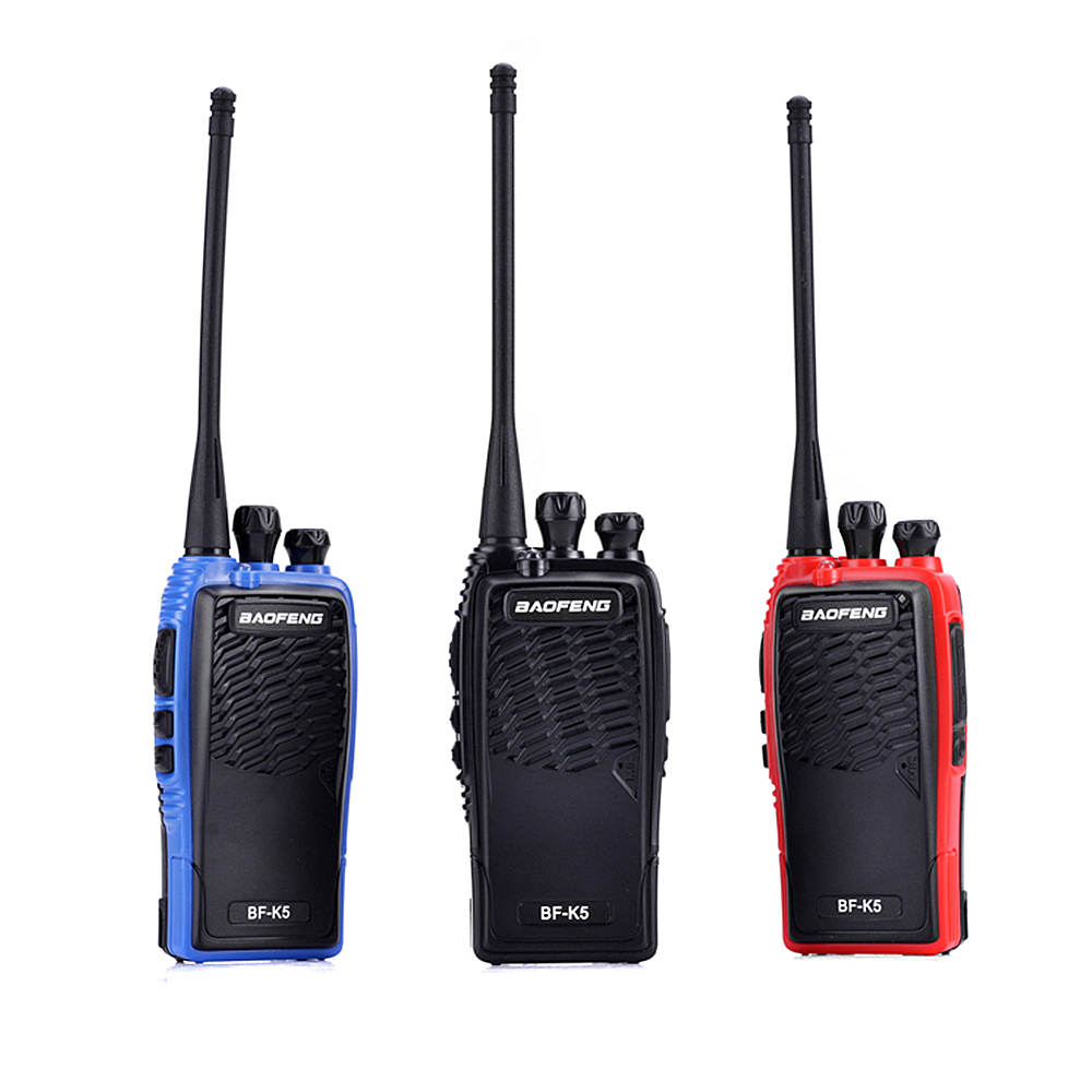 Image 5 - 100% Original Baofeng Walkie Talkie BF K5 Amateur Radio Portable Two Way Radio Pofung K5 Woki Toki Wireless Fm Hm Transceiver-in Walkie Talkie from Cellphones & Telecommunications