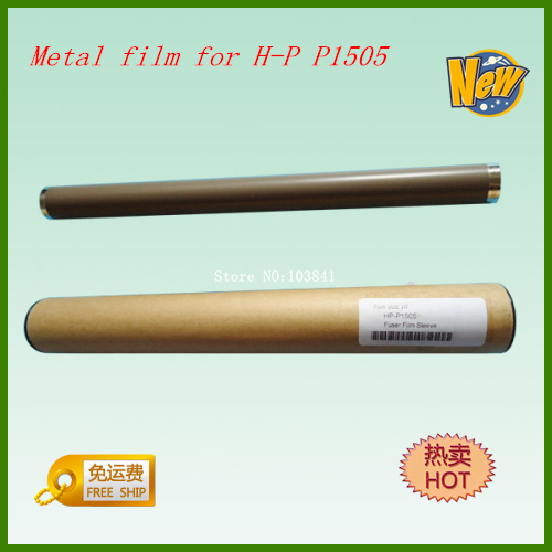 3pcs Metal Fuser Filxing Film Grade A Fuser Film Sleeve for HP P1505 P 1505 P1606 1606 M1522 M1120 M1536 1536Printer Telfon film