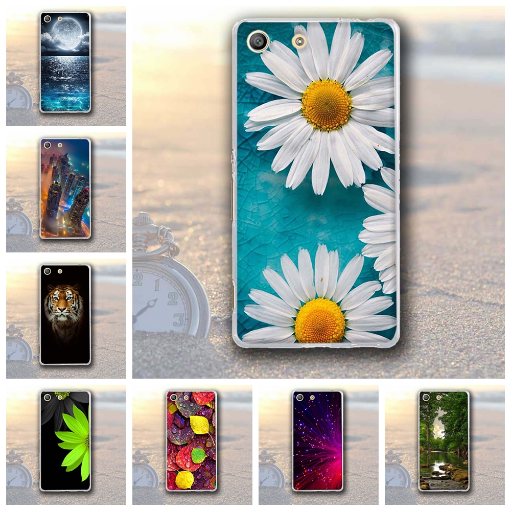 For Sony Xperia M5 Case Soft TPU Cover for Sony Xperia M5 E5603 E5606 E5653 Protective Case For Xperia M5 E560 Case Cover