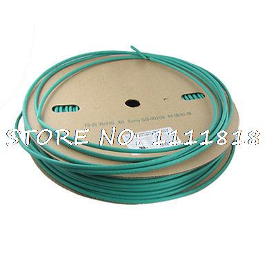 6mm Dia. vert Polyoléfine Wire Wrap Thermorétractable Tube 100 M