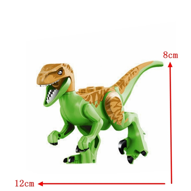 Legoings Jurassic Dinosaurs World Park Dinosaur Raptor protection zone Building Blocks Set Kids Toys juguetes Compatible Legoing
