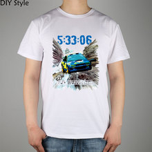 Motorsport Wrc Male Cotton Lycra t-shirt Top New Arrival Fashion Brand T Shirt For Men Summer