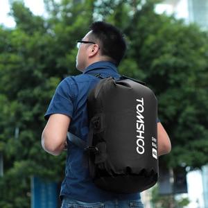Image 4 - 40l 야외 방수 건조 가방 자루 스토리지 가방 여행 래프팅 보트 카약 카누 캠핑 스노우 보드