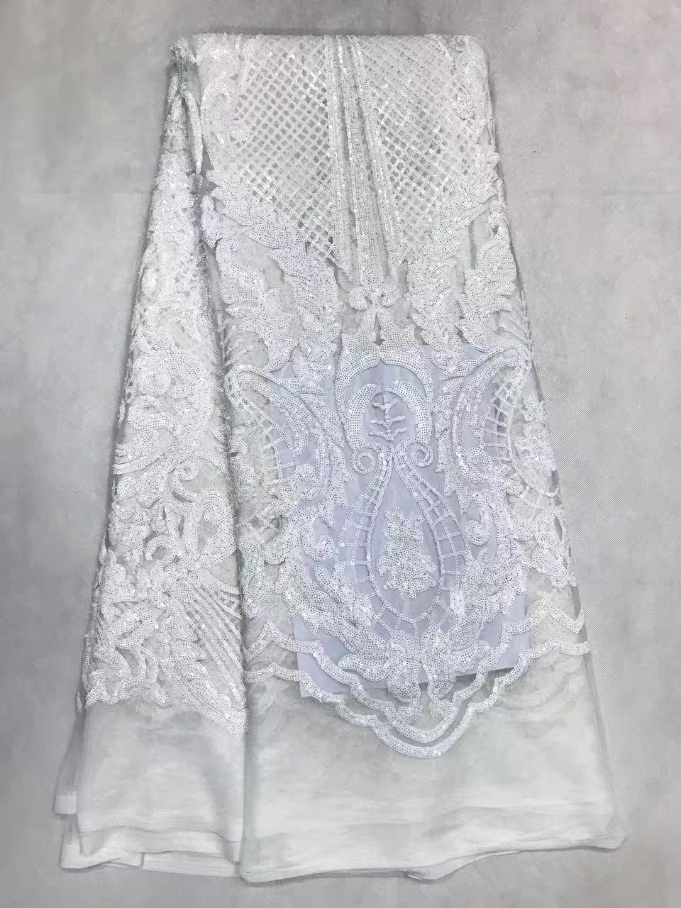 fabric lace party mesh