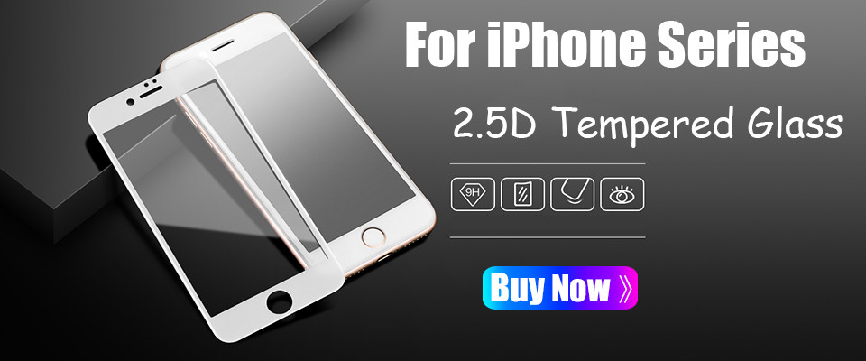 2.5D iPHONE X Tempered Glass Screen Protector