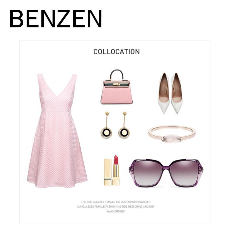 BENZEN luxus Rhineston napszemüveg női márkájú, polarizált női - Ruházati kiegészítők - Fénykép 5