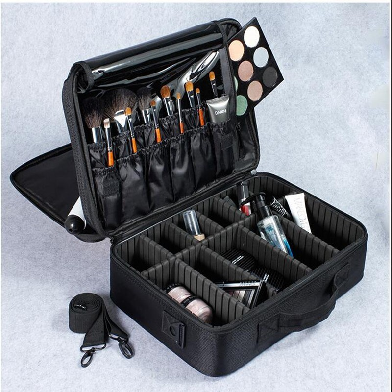 Professional Large Capacity Empty Makeup Organizer